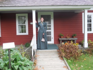 Porch of Almanzo Wilder's birthplace, Burke (near Malone), New York, 2011.