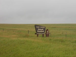 West of Pierre, South Dakota.