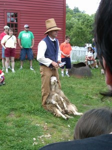 Wool Days at Old Sturbridge Village, Sturbridge, Massachusetts, May 2011.