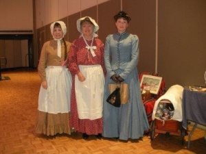 Judy Green, Connie Neumann, and myself at LauraPalooza 2012.